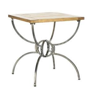 Safavieh Alvin 24.75-in Brown End Table