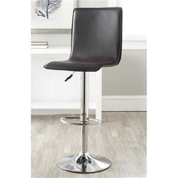 Safavieh Magda 23.20-in Brown PVC Bar Stool