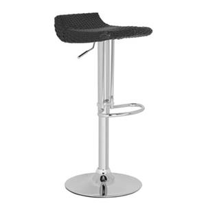 Safavieh Juji 24-in Black Wicker Bar Stool