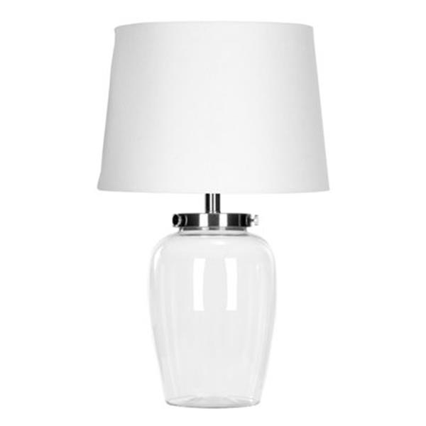 Safavieh 22.50-in Clear Glass Table Lamp