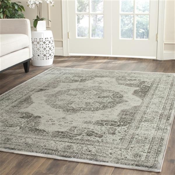 Safavieh Vintage Grey and Multi-Colored Area Rug,VTG158-770-