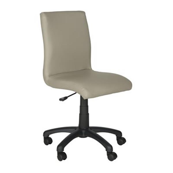 Safavieh Fox 20.5-in Grey Hal Desk Chair
