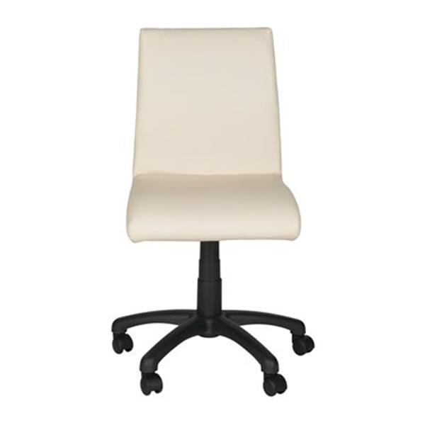 Safavieh Fox 20.5-in Champagne Hal Desk Chair