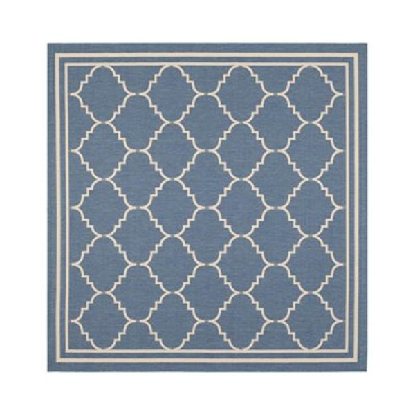 Safavieh CY6889-243 Courtyard Blue and Beige Area Rug,CY6889