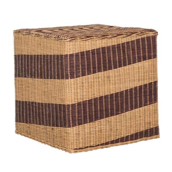 Safavieh Tygo 17.5-in Brown Wicker End Table