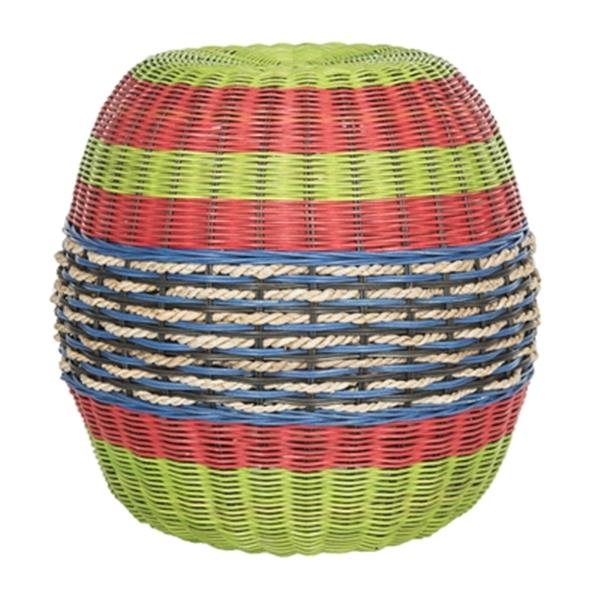 Safavieh Nikos 18-in Multiple Colours/Finishes Wicker End Table
