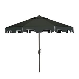 Safavieh Zimmerman 9-ft Dark Green Drape Crank & Tilt Patio Umbrella
