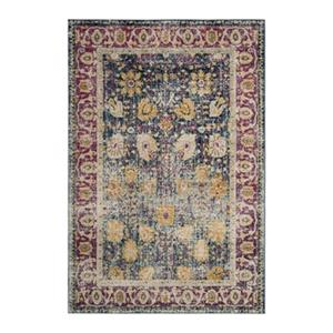 Safavieh Granada Blue and Fuchsia Area Rug,GRA350A-5