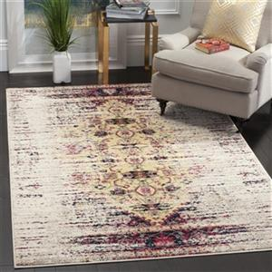 Safavieh Monaco Ivory and Pink Area Rug,MNC209R-214