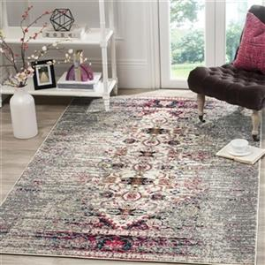 Safavieh Monaco Grey and Ivory Area Rug,MNC209T-214