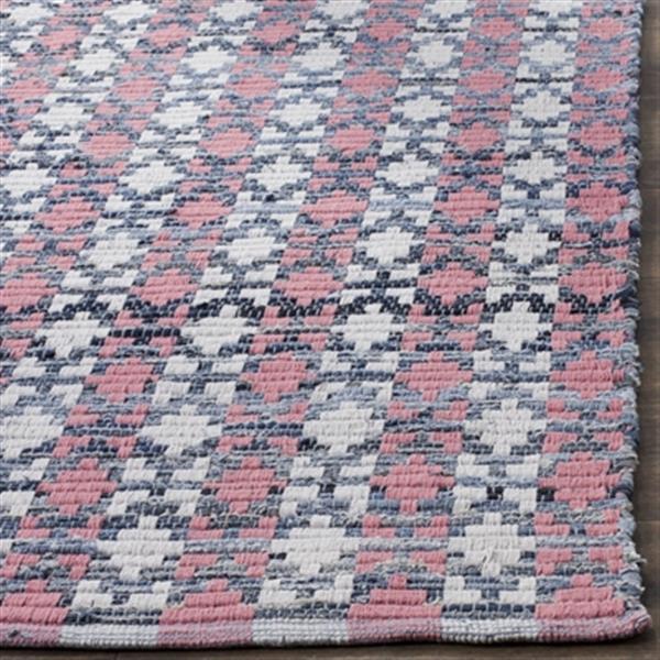 Safavieh Montauk Flat Weave Coral Multicolor Area Rug,MTK123
