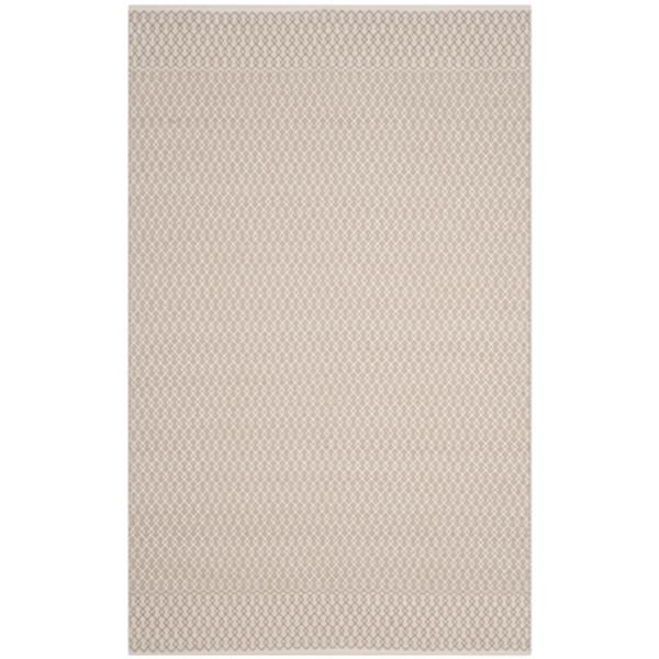 Safavieh Montauk Flat Weave Ivory and Grey Area Rug,MTK339A-