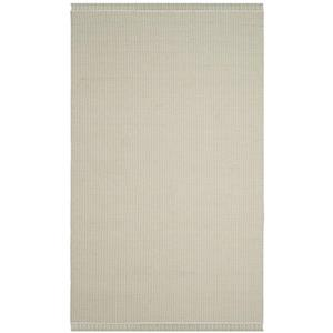 Safavieh Montauk Flat Weave Ivory and Green Area Rug,MTK340G