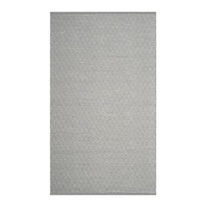 Safavieh Montauk Flat Weave Ivory and Grey Area Rug,MTK515C-