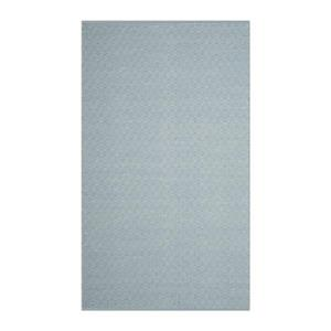 Safavieh Montauk Flat Weave Ivory and Light Blue Area Rug,MT