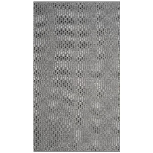Safavieh Montauk Flat Weave Ivory and Navy Area Rug,MTK515E-