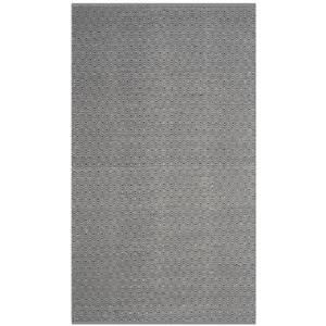 Safavieh Montauk Flat Weave Ivory and Navy Area Rug,MTK515E-