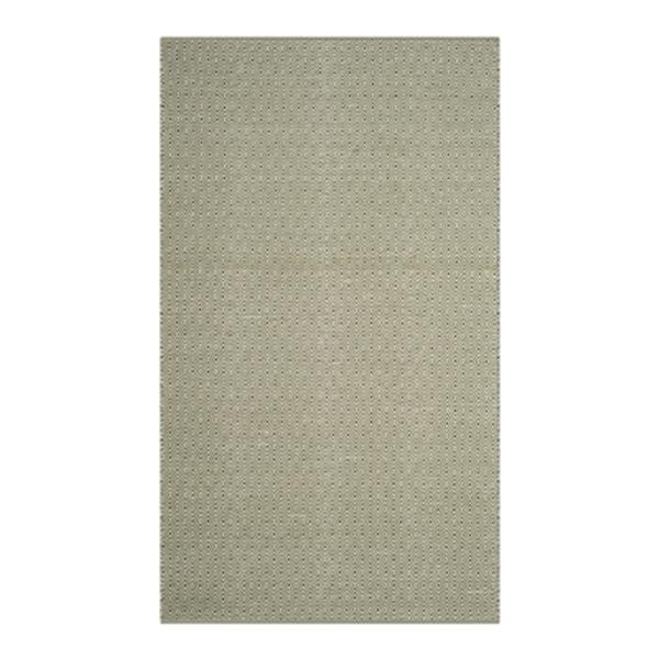 Safavieh Montauk Flat Weave Ivory and Green Area Rug,MTK515H