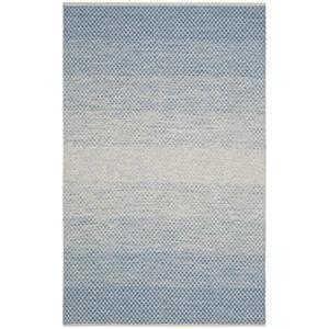 Safavieh Montauk Flat Weave Blue and Ivory Area Rug,MTK601B-