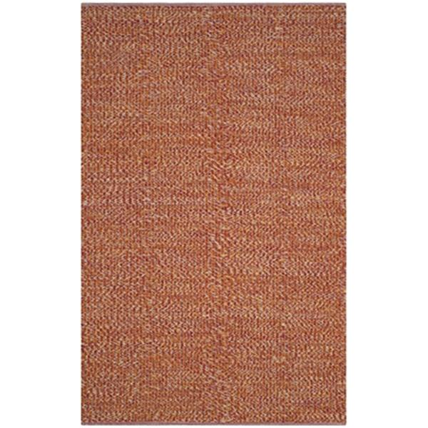 Safavieh Montauk Flat Weave Orange Multicolor Area Rug,MTK60