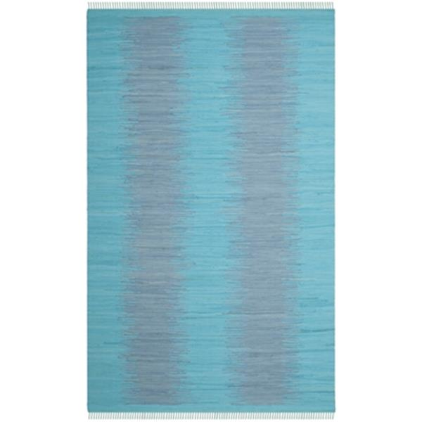 Safavieh Montauk Flat Weave Turquoise Area Rug,MTK718C-5