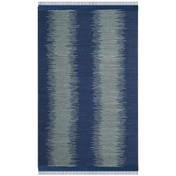 Safavieh Montauk Flat Weave Navy Area Rug,MTK718H-5