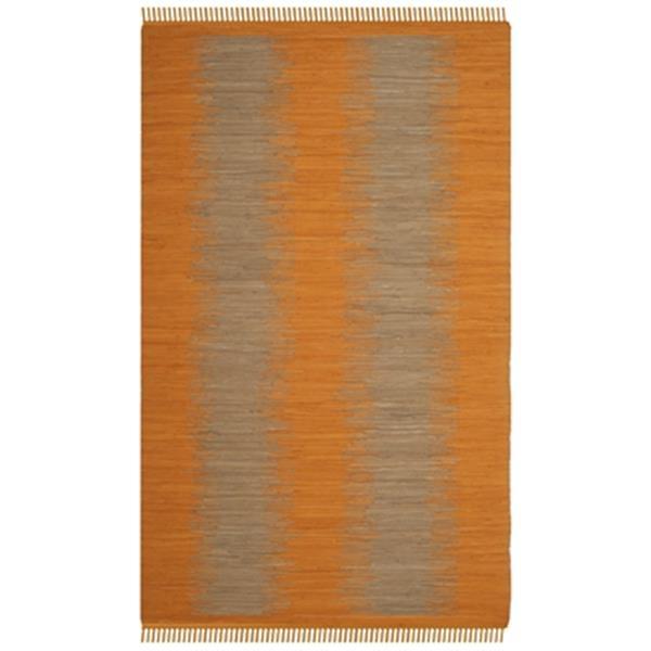 Safavieh Montauk Flat Weave Orange Area Rug,MTK718R-5