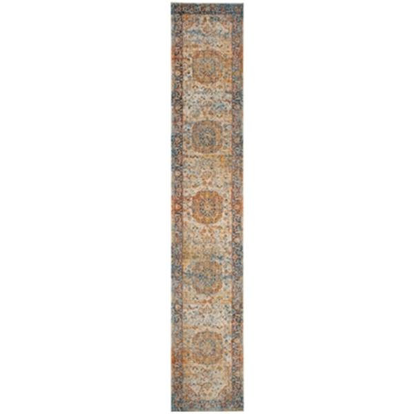 Safavieh Vintage Persian Blue Multicolor Area Rug,VTP435B-21