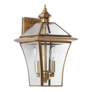 Safavieh 14.50-in Virginia Brass Double Light Sconce