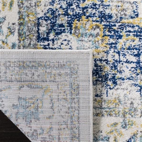 Safavieh Evoke Ivory and Blue Indoor Area Rug,EVK220C-5