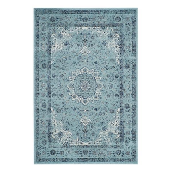 Safavieh Evoke Light Blue Indoor Area Rug,EVK220E-5