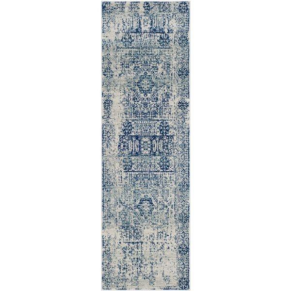 Safavieh Evoke Ivory and Blue Indoor Area Rug,EVK260C-219