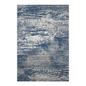 Safavieh Evoke Navy and Ivory Indoor Area Rug,EVK272A-5