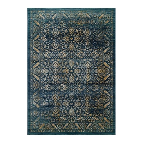 Safavieh Evoke Navy and Gold Indoor Area Rug,EVK507A-5