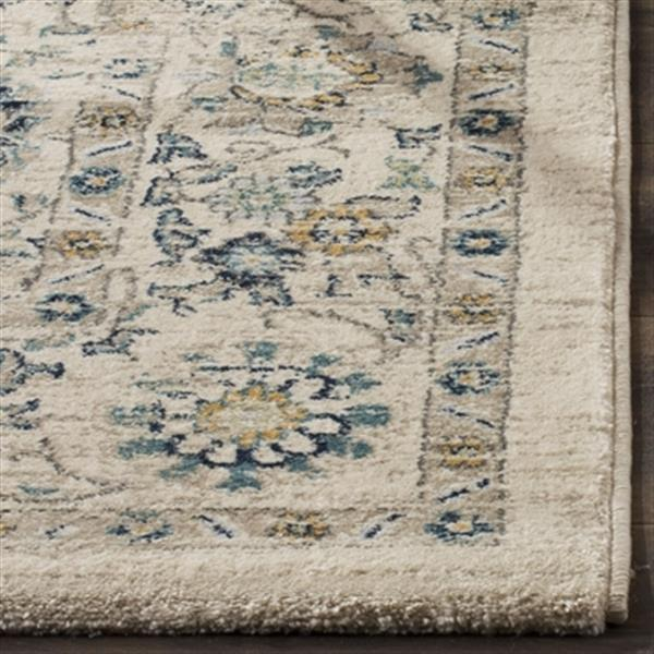 Safavieh Evoke Beige and Turquoise Indoor Area Rug,EVK515F-5