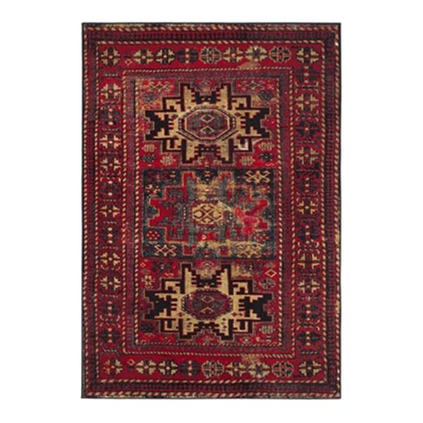 Safavieh Vintage Hamadan Red and Multicolor Indoor Area Rug,
