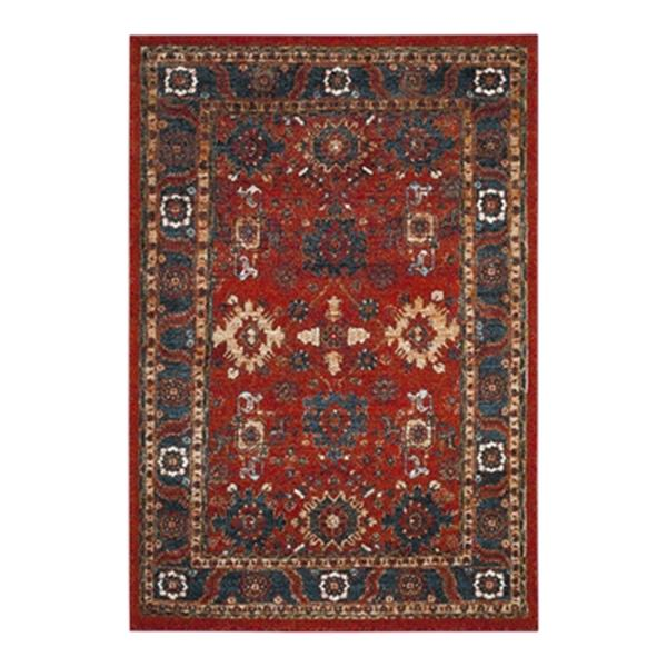 Safavieh Vintage Hamadan Orange and Blue Indoor Area Rug,VTH