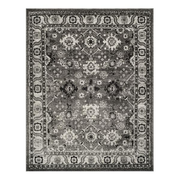 Safavieh Vintage Hamadan Grey and Black Indoor Area Rug,VTH2