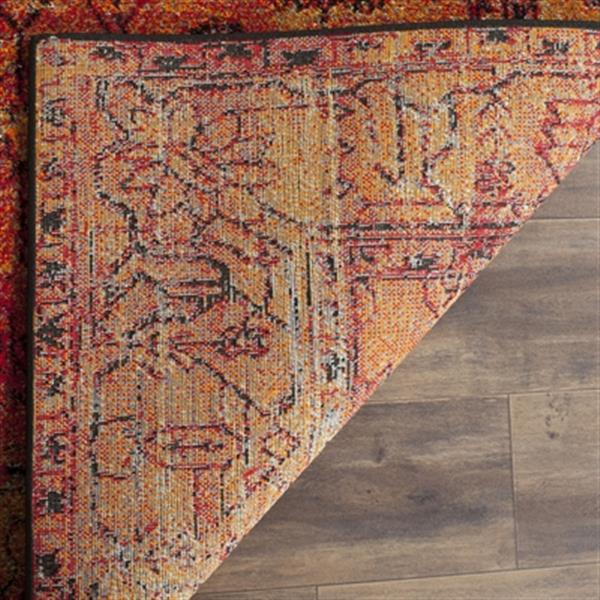 Safavieh Vintage Hamadan Orange Indoor Area Rug,VTH216C-5