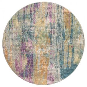 Safavieh Madison Blue and Fuchsia Area Rug,MAD123C-7R