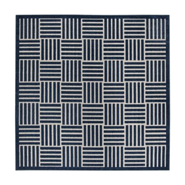 Safavieh Blue and Grey Cottage Indoor/Outdoor Rug,COT942A-7S