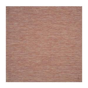 Safavieh Red and Beige Courtyard Indoor/Outdoor Rug,CY8022-3