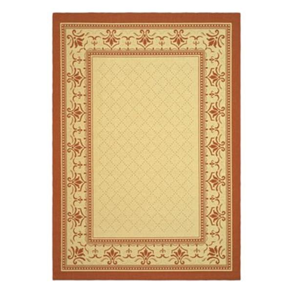 Safavieh CY0901-3201 Courtyard Indoor/Outdoor Area Rug, Beig