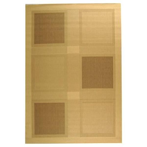 Safavieh CY1928-3001 Courtyard Natural and Brown Area Rug,CY