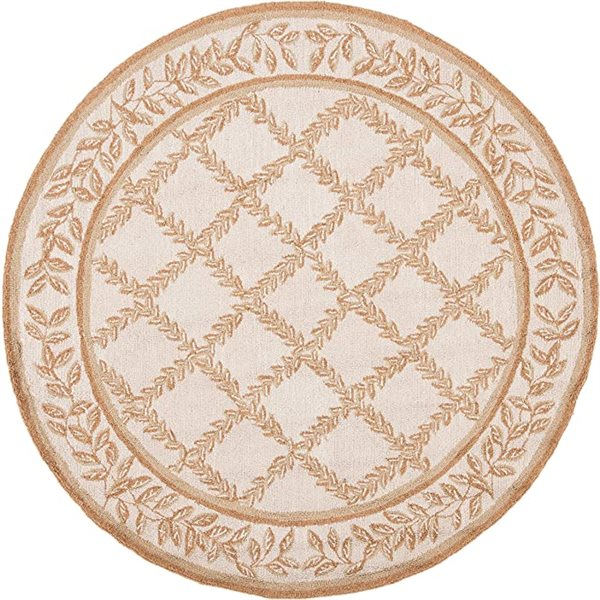 Safavieh Chelsea Ivory and Camel Area Rug,HK230C-5R