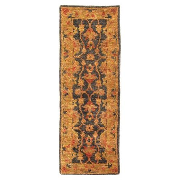 Safavieh Bohemian 30-in. Charcoal/Gold Runner