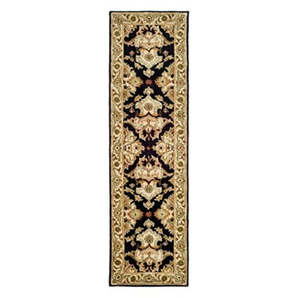 Safavieh Heritage 27-in. Black/Ivory Runner