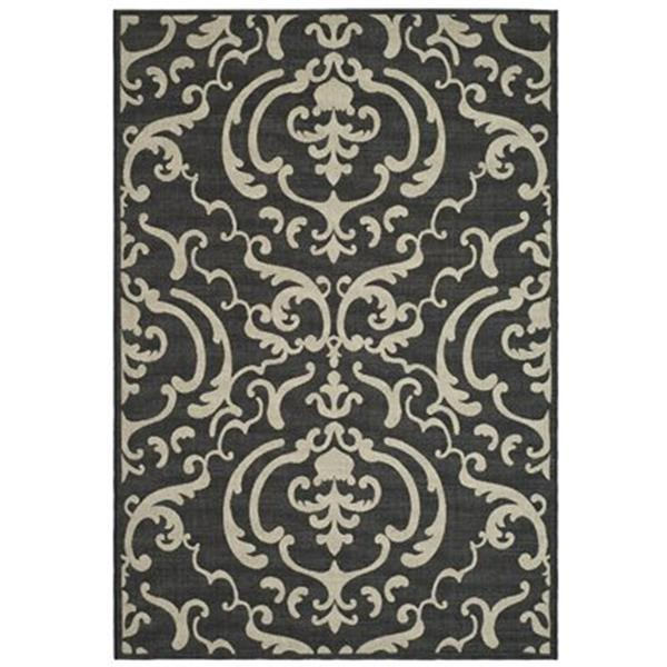 Safavieh CY2663-3908 Courtyard Indoor/Outdoor Area Rug, Sand