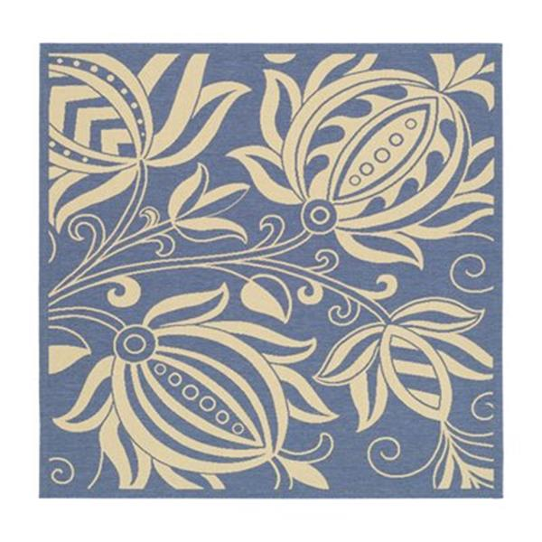 Safavieh CY2961-3103 Courtyard Indoor/Outdoor Area Rug, Blue