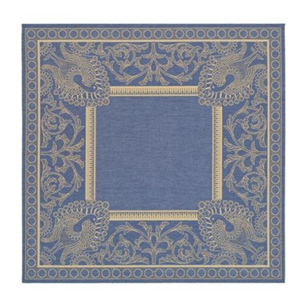 Safavieh CY2965-3103 Courtyard Indoor/Outdoor Area Rug, Blue